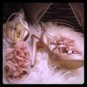 Platinum BP Nordstroms Blush Heels (6)